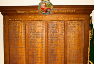 Ancient Order of Foresters High Chief Rangers