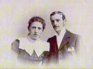 Albert Ernest Lancaster and Gertrude Miriam Turner