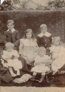 First 6 Grandchildren of James Alfred Lancaster