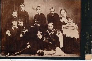 Family of James Alfred Lancaster