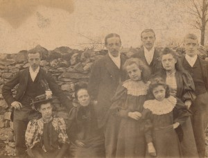 James Alfred Lancaster and family