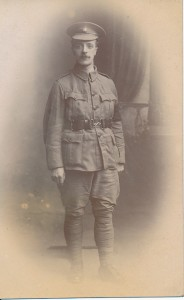Joseph Wilkinson Lancaster in uniform